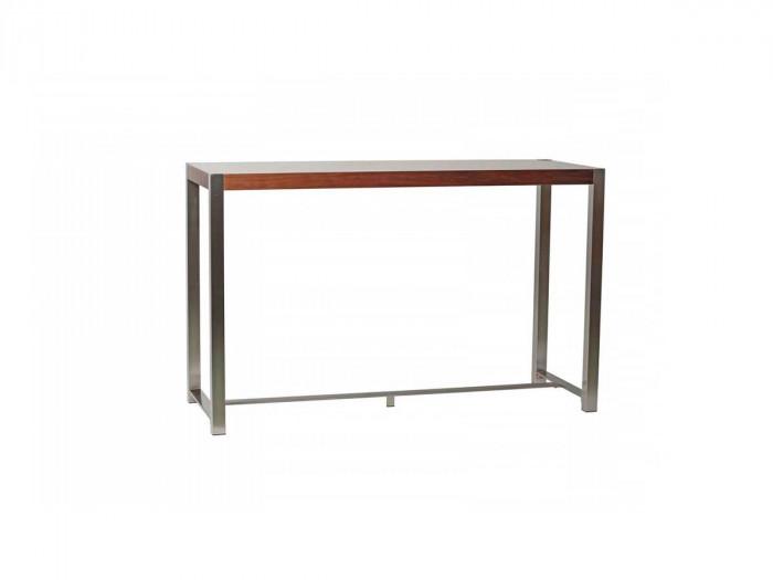 Table de bar MIRKA noyer 160 x 60