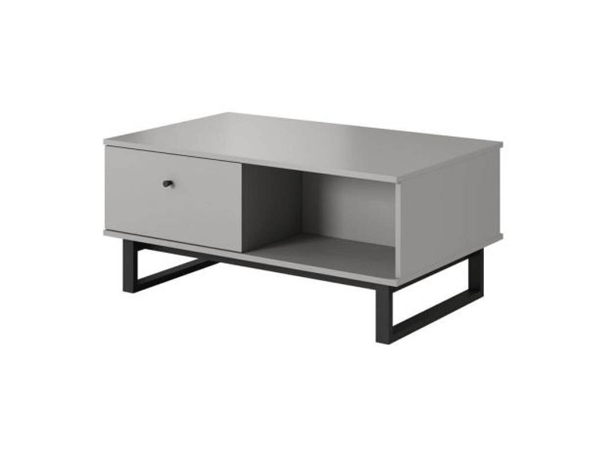 Table basse AVIONA Gris et Noir