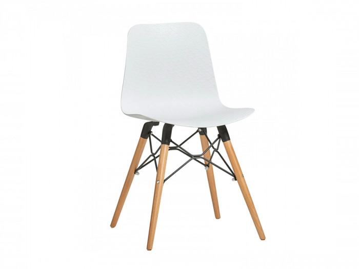 Ensemble de 4 chaises HITA Blanc
