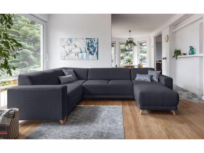 Canapé panoramique XXL fixe BELLA