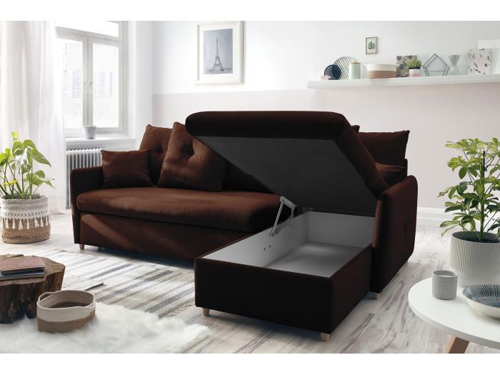 Canapé d'angle réversible convertible DOLLY