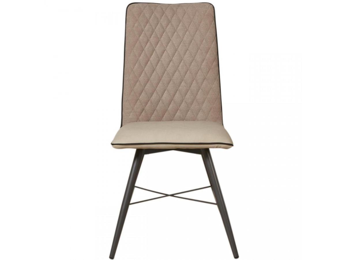 Lot de 2 chaises bi-matière SHIMONE