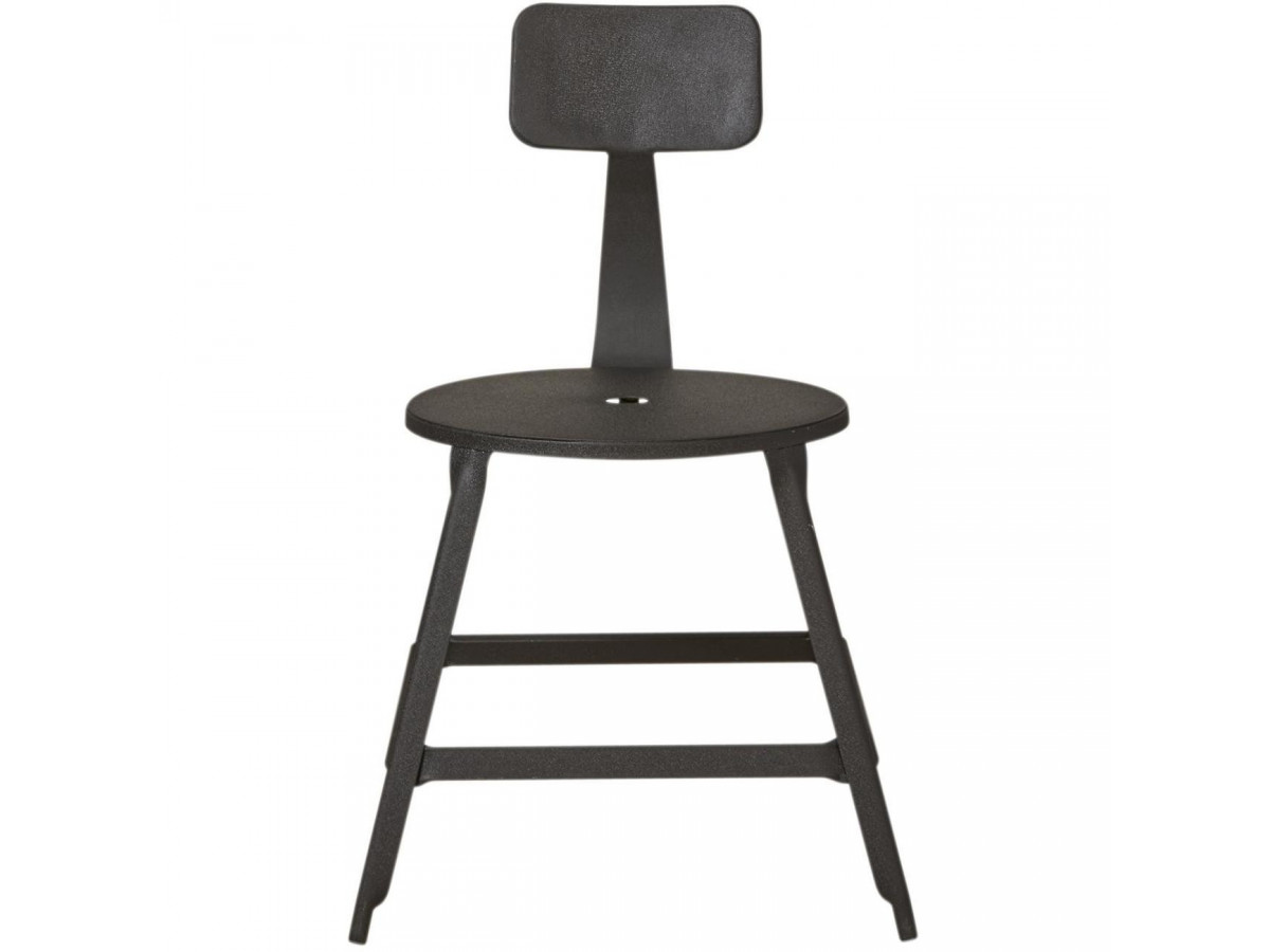 Lot de 2 chaises en métal style industriel LOFT