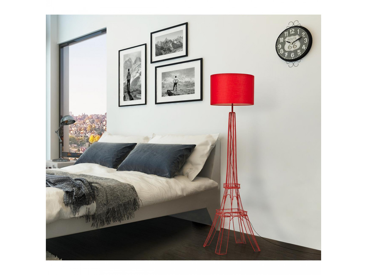 Lampadaire DOLLY blanc