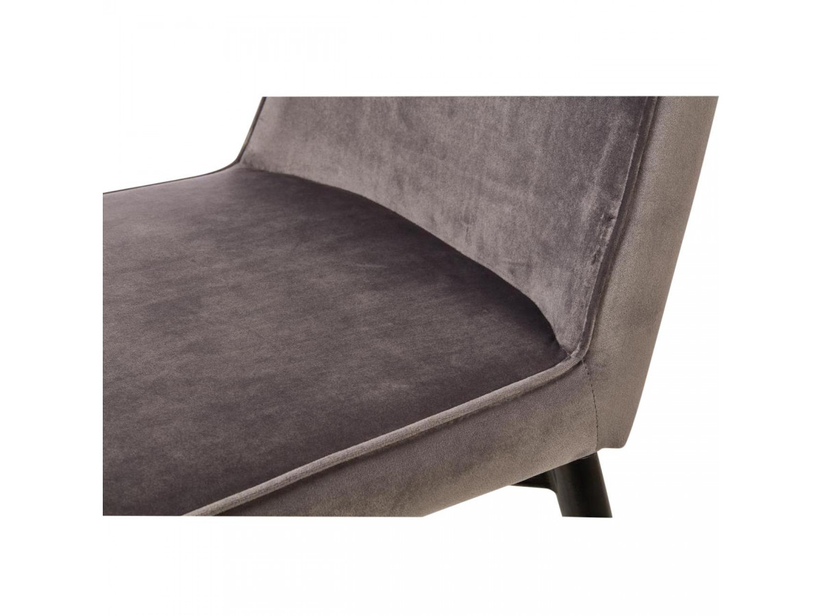 Lot de 4 chaises PRESTIGE en velours
