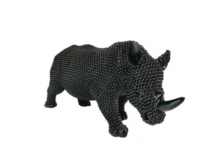 Statue RINO rhinocéros noir