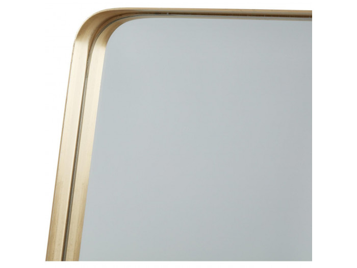 Miroir et tendance de forme rectangulairee en aluminium Traun4