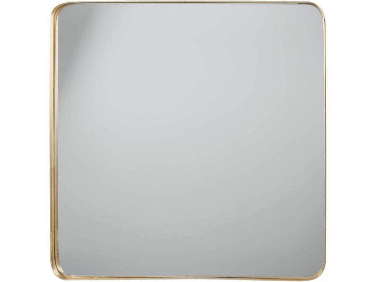 Miroir et tendance de forme rectangulairee en aluminium Coco1