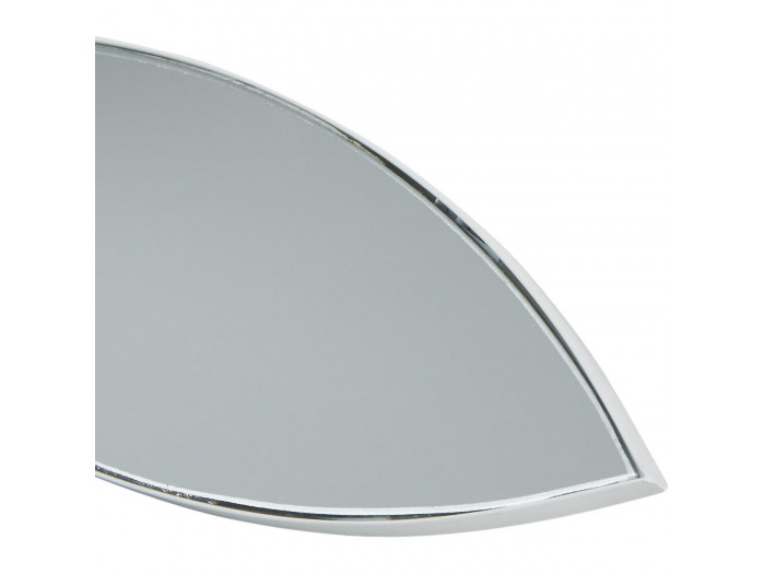 Miroir et tendance en forme poisson avec structure en metal Olga Blanc5