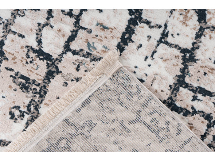 Tapis ARROW Gris / Bleu 200cm x 300cm5
