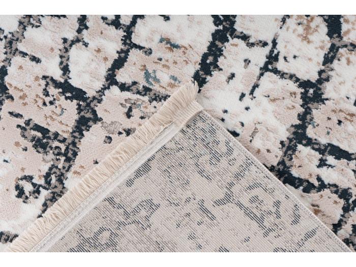 Tapis ARROW Gris / Bleu 80cm x 150cm5