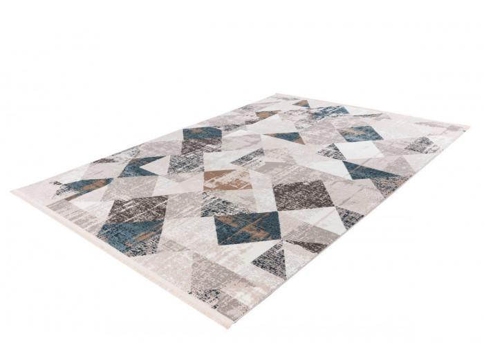 Tapis LORI Gris / Bleu 120cm x 180cm2