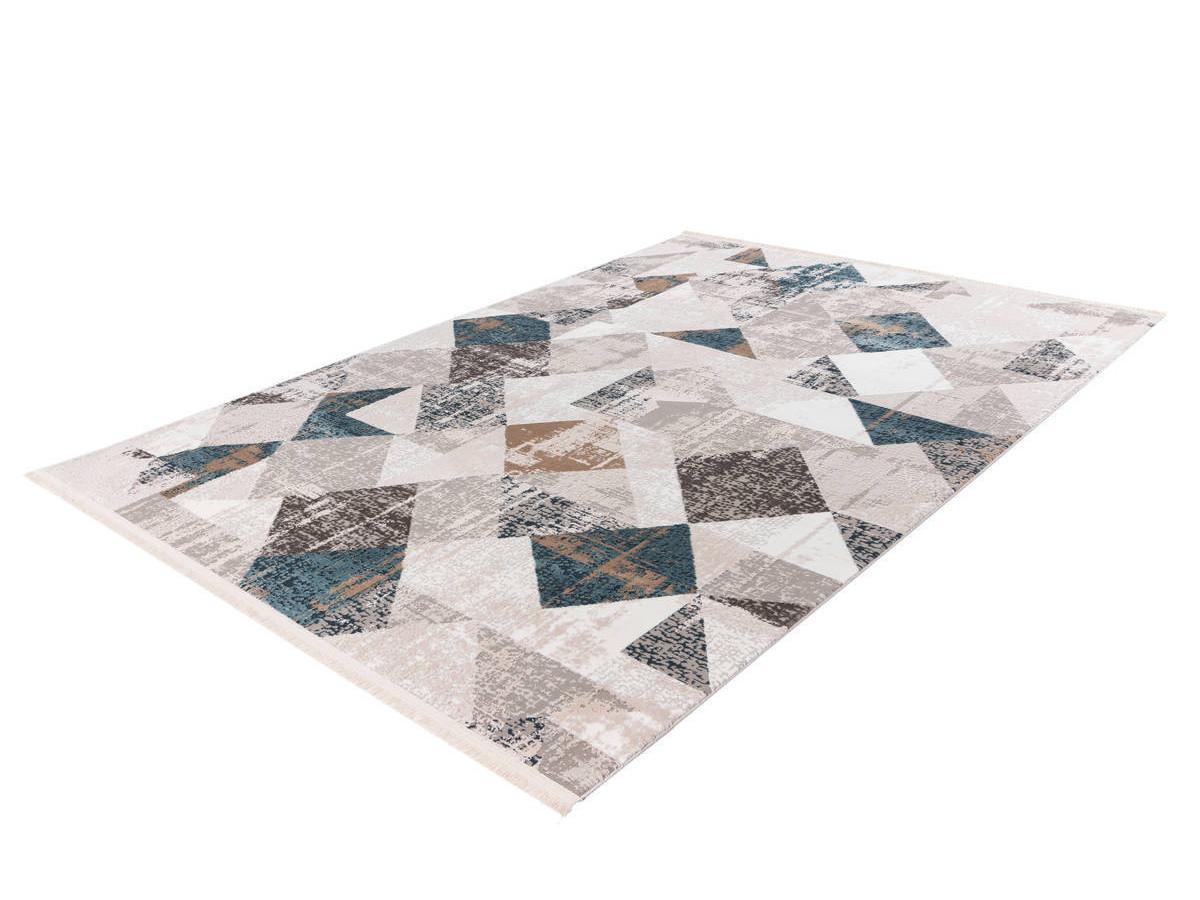Tapis LORI Gris / Bleu 160cm x 230cm2