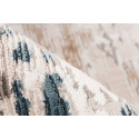 Tapis TORI Gris / Bleu 80cm x 150cm4