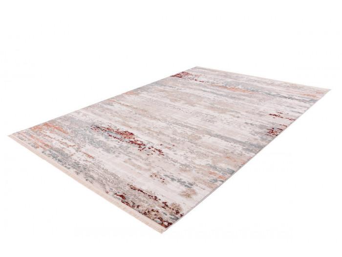 Tapis TORI Gris / Rose saumon 160cm x 230cm
