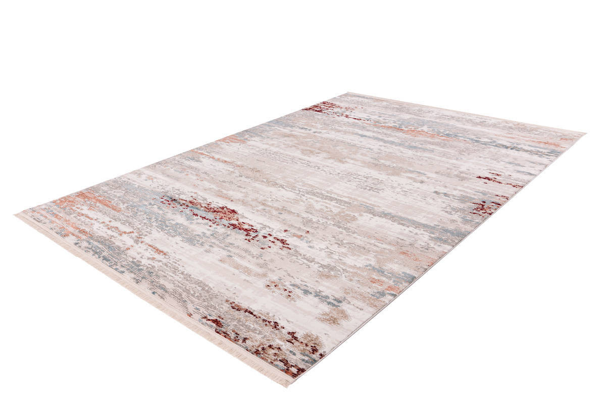 Tapis TORI Gris / Rose saumon 160cm x 230cm2