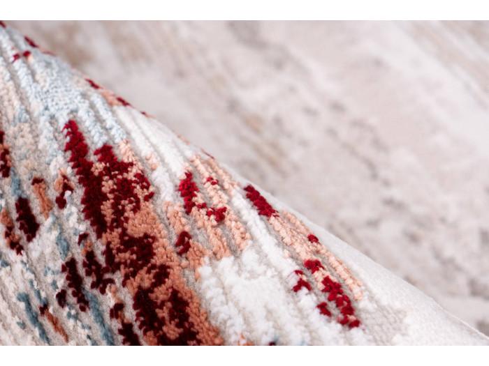 Tapis TORI Gris / Rose saumon 160cm x 230cm4