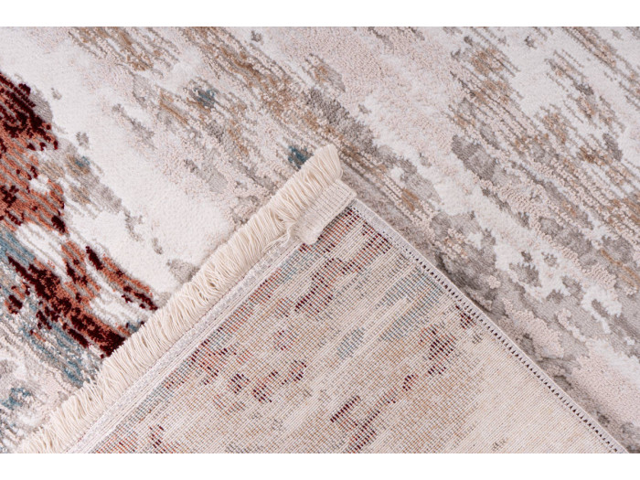 Tapis TORI Gris / Rose saumon 160cm x 230cm5