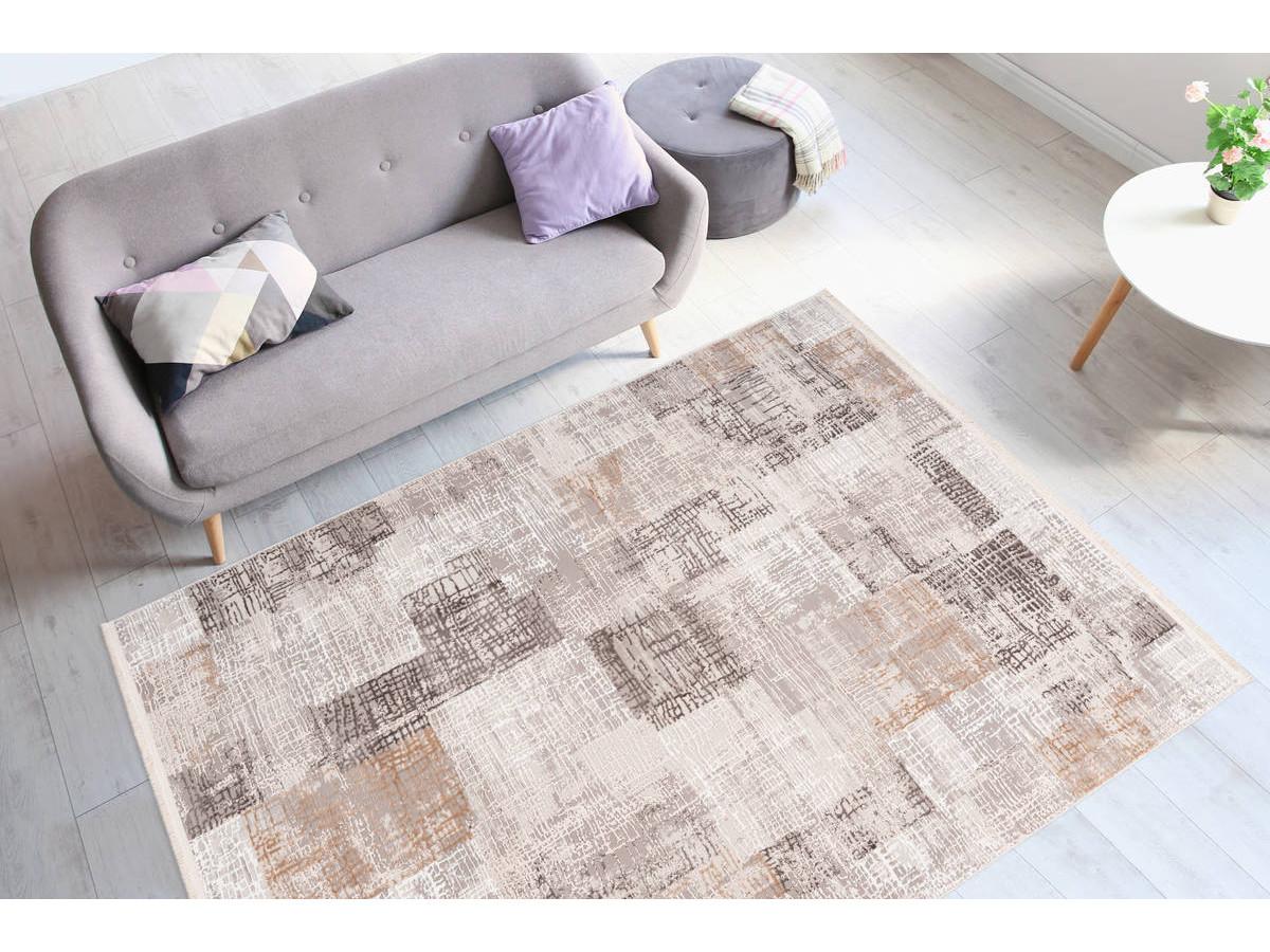 Tapis ZINEB Gris / Argenté 160cm x 230cm1