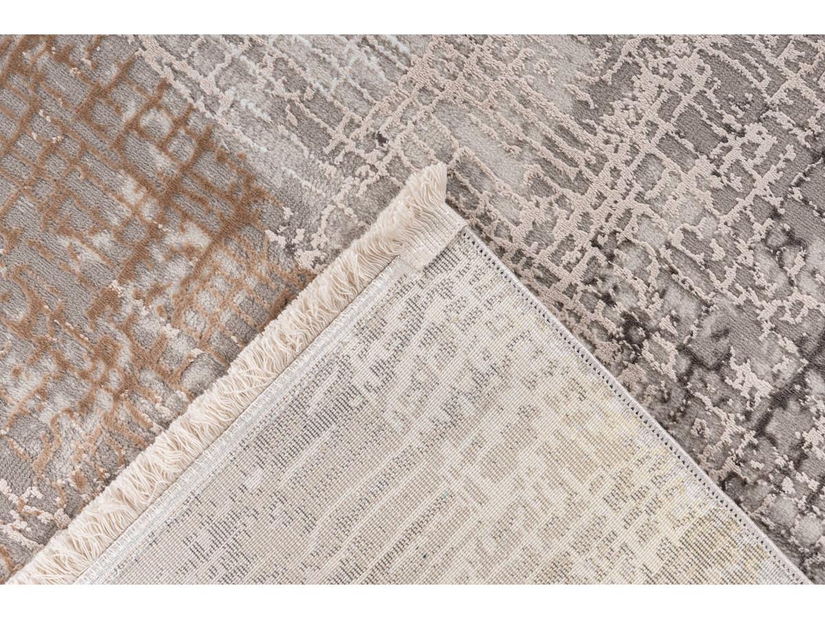 Tapis ZINEB Gris / Argenté 80cm x 150cm5
