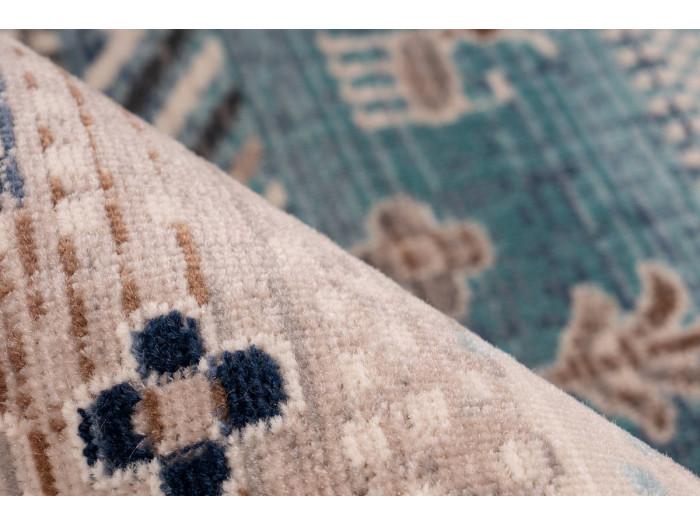 Tapis VIKI Marron / Bleu 120cm x 170cm4