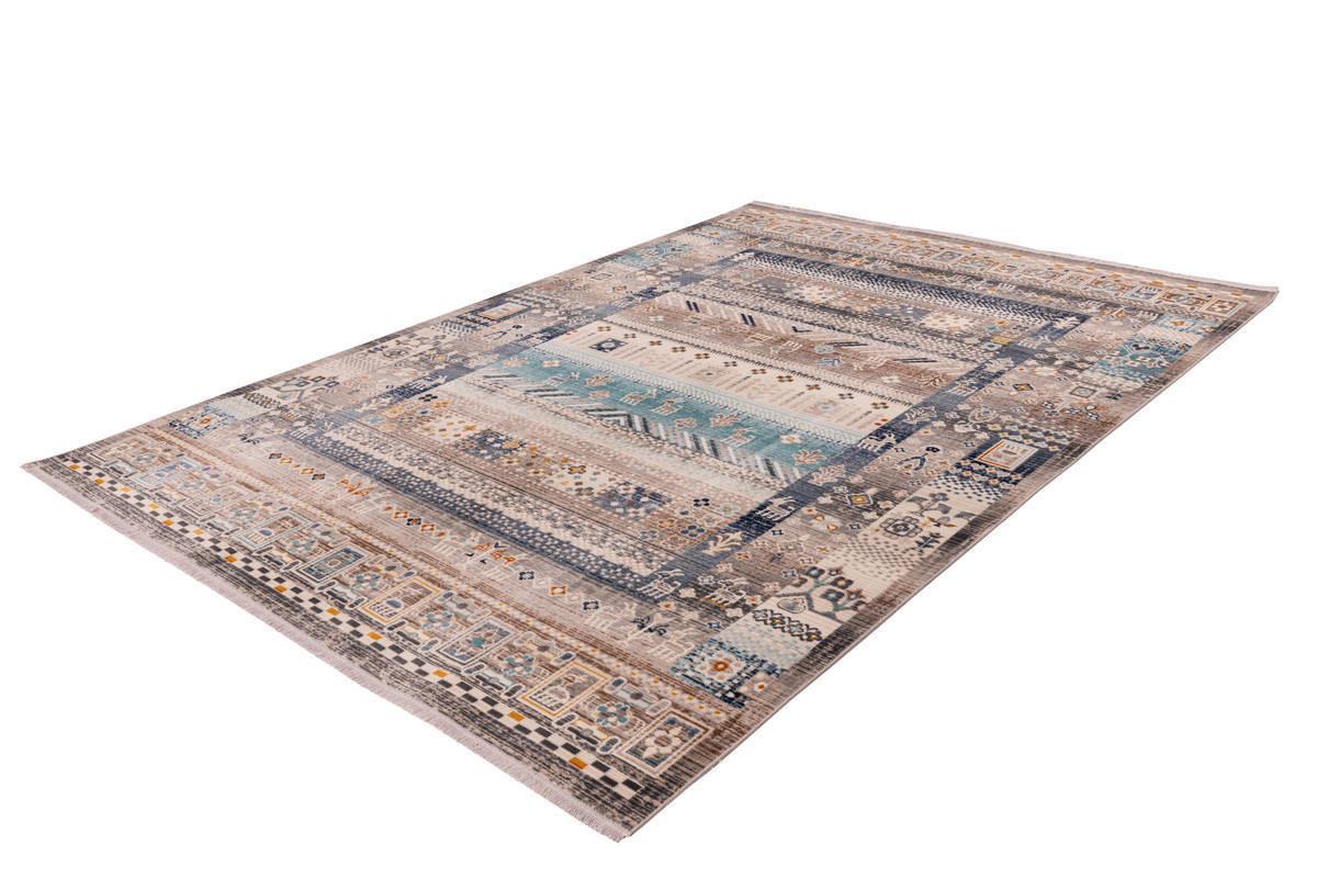 Tapis VIKI Marron / Bleu 200cm x 290cm2
