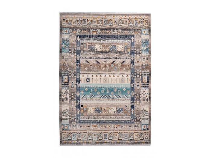 Tapis VIKI Marron / Bleu 200cm x 290cm3