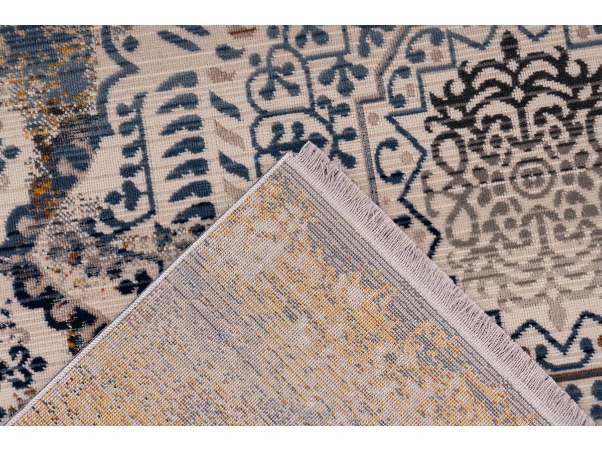 Tapis VIKI Multicolor / Bleu 80cm x 150cm5