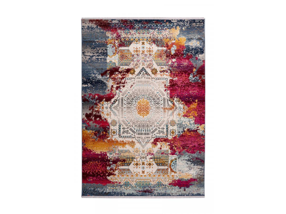 Tapis VIKI Multicolor / Rouge 200cm x 290cm3