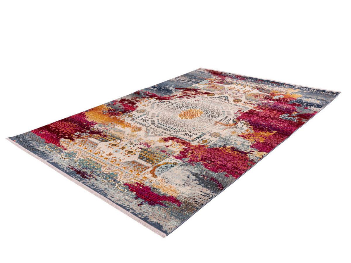 Tapis VIKI Multicolor / Rouge 80cm x 150cm
