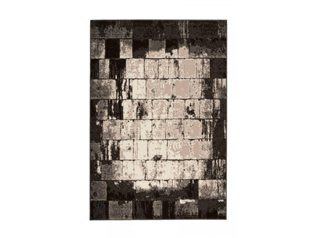 Tapis LUCIO Crème / Marron 120cm x 170cm3
