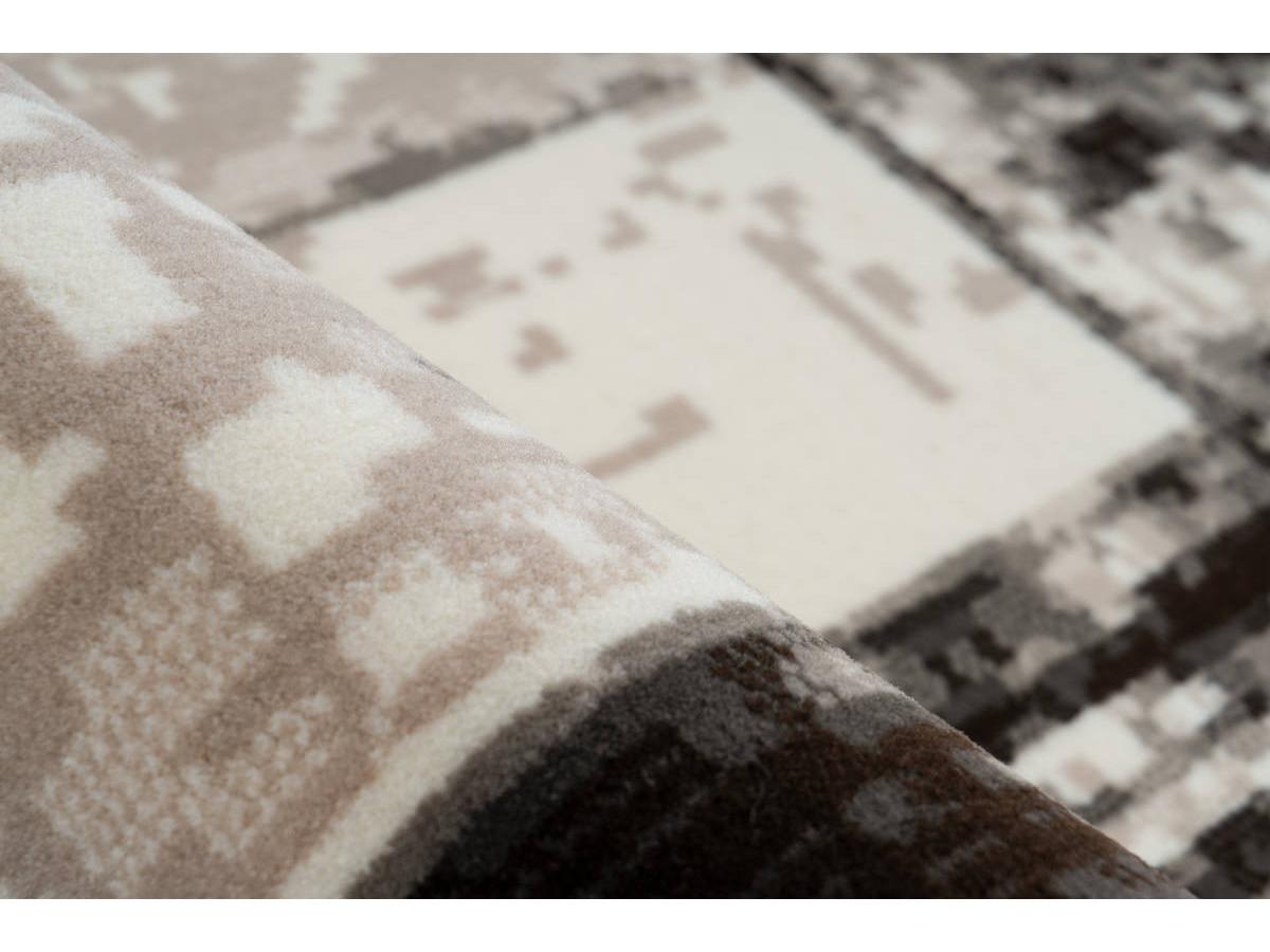 Tapis LUCIO Crème / Marron 120cm x 170cm4