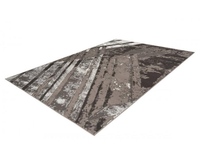 Tapis LUCIO Gris / Crème 200cm x 290cm