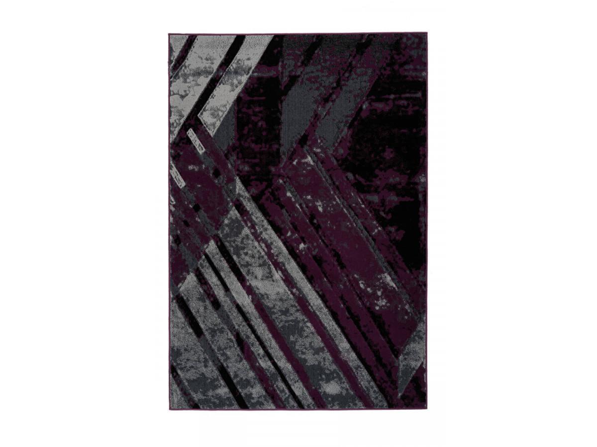 Tapis LUCIO Gris / Violet 120cm x 170cm3