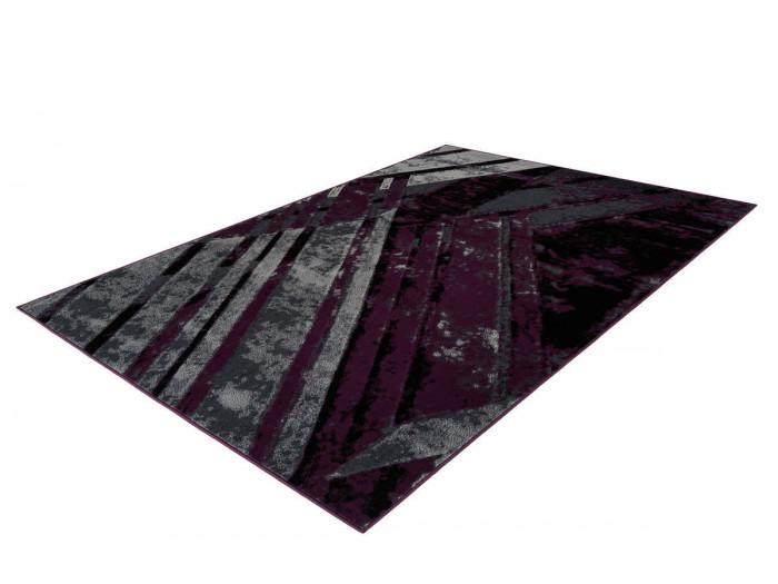 Tapis LUCIO Gris / Violet 200cm x 290cm