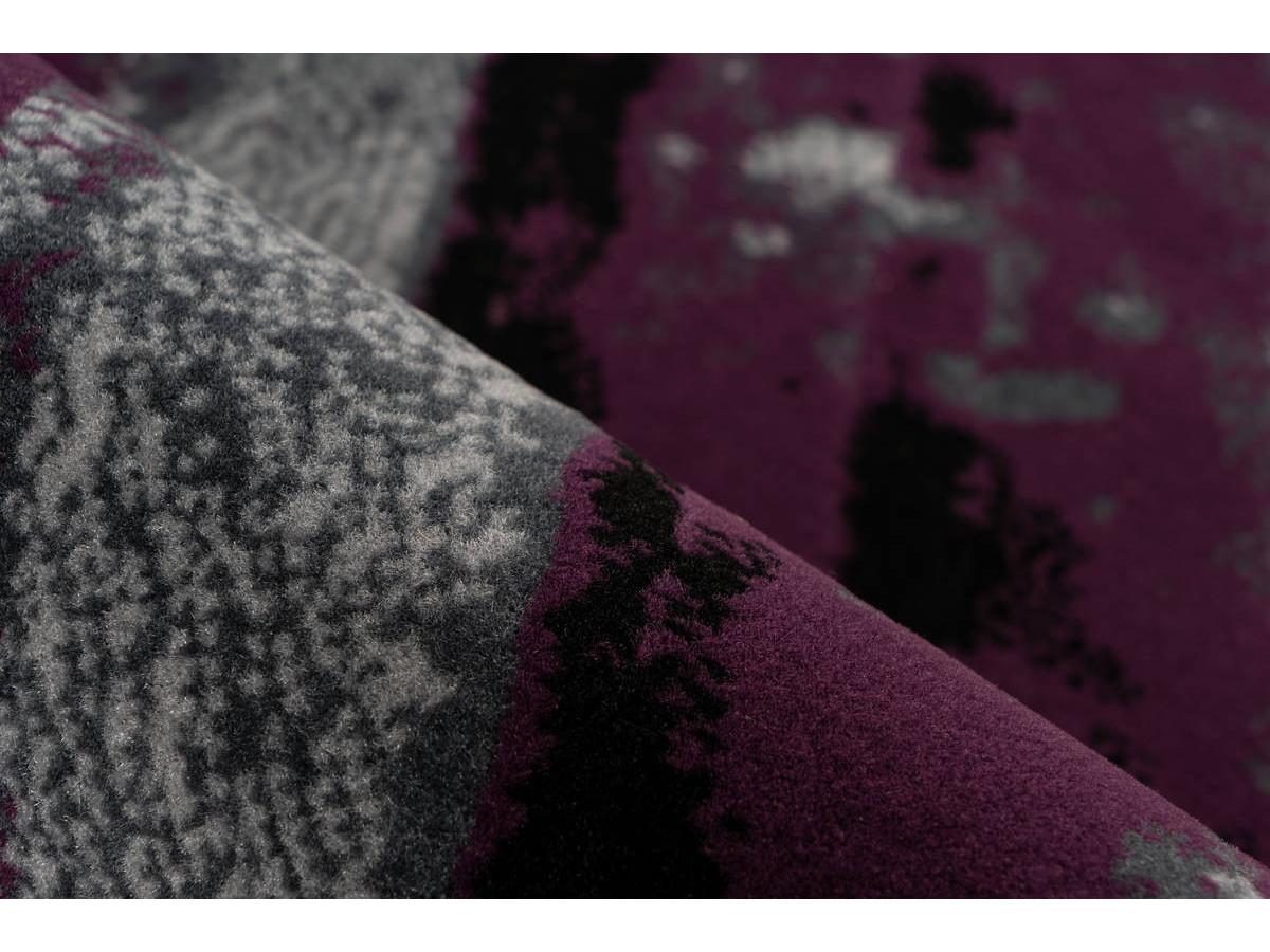 Tapis LUCIO Gris / Violet 200cm x 290cm4