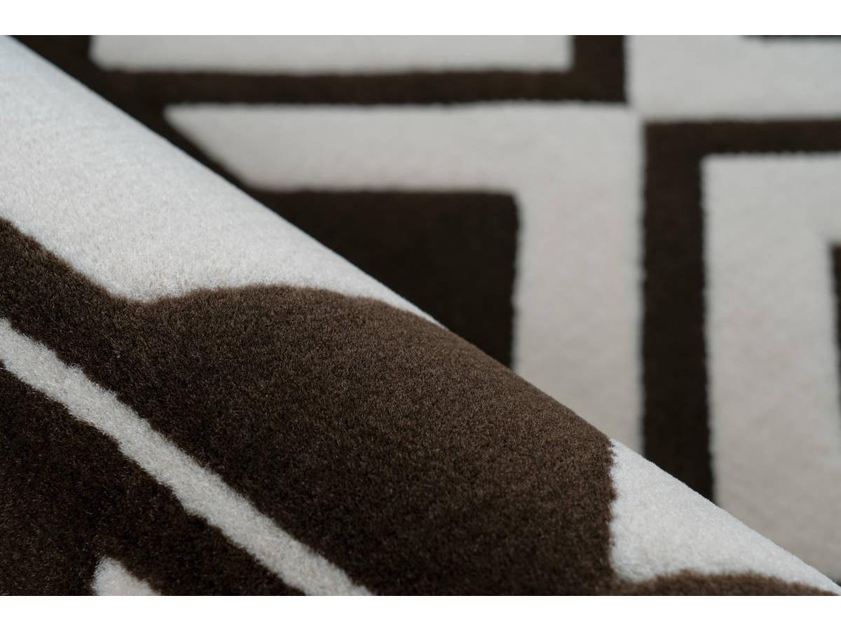 Tapis SAFI Marron / Crème 120cm x 170cm4