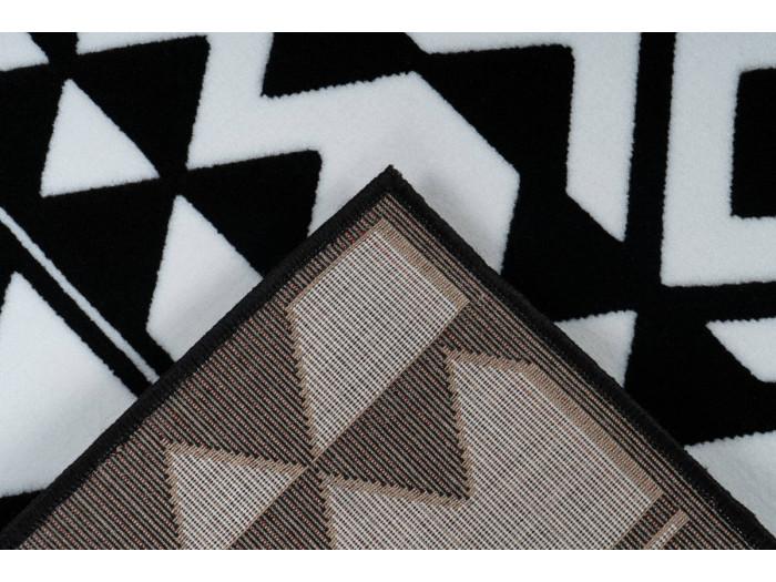 Tapis SAFI Noir / Blanc 200cm x 290cm5