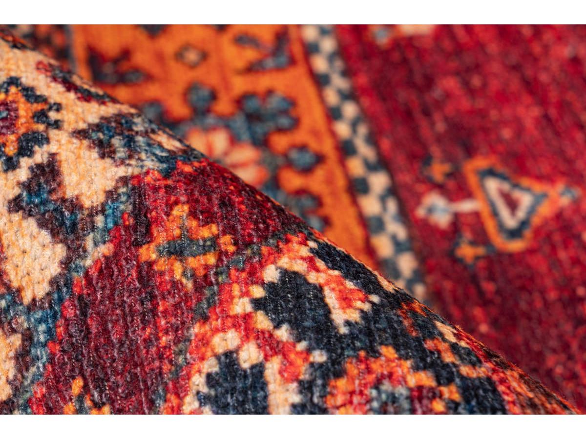 Tapis ASSA Multicolor / Rouge 80cm x 150cm4