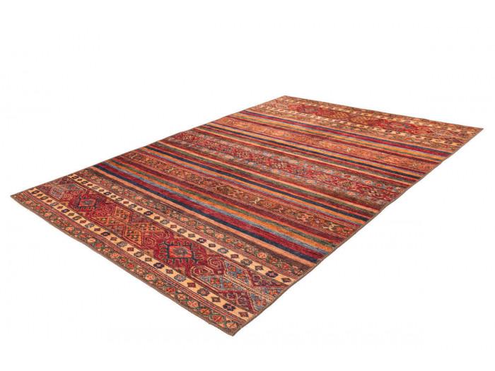 Tapis ASSA 3 Multicolor / Rouge 80cm x 150cm
