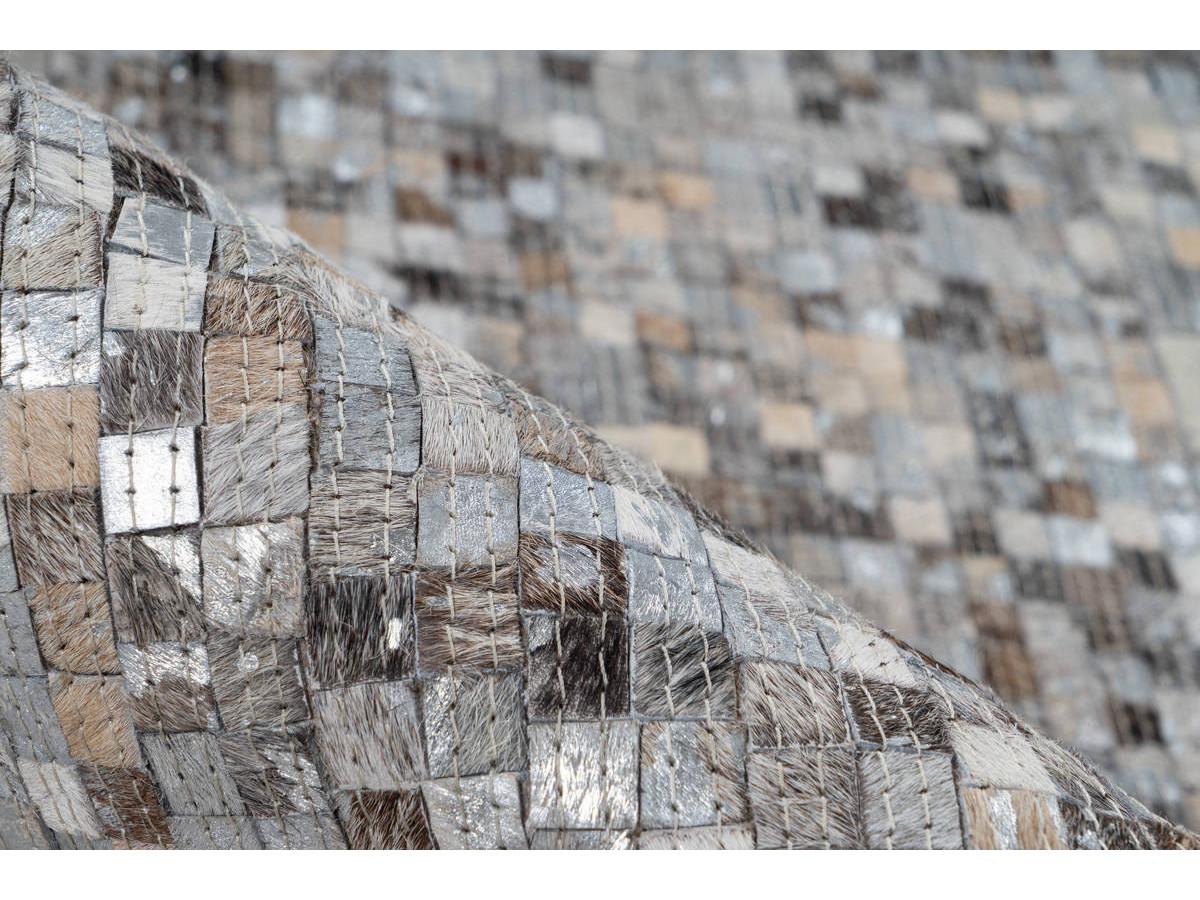 Tapis TORI Gris / Argenté 120cm x 170cm4