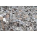 Tapis TORI Gris / Argenté 80cm x 150cm4