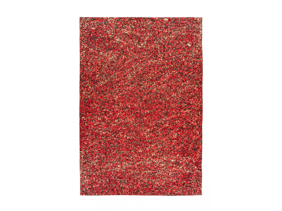Tapis TORI Rouge / Doré 200cm x 290cm3