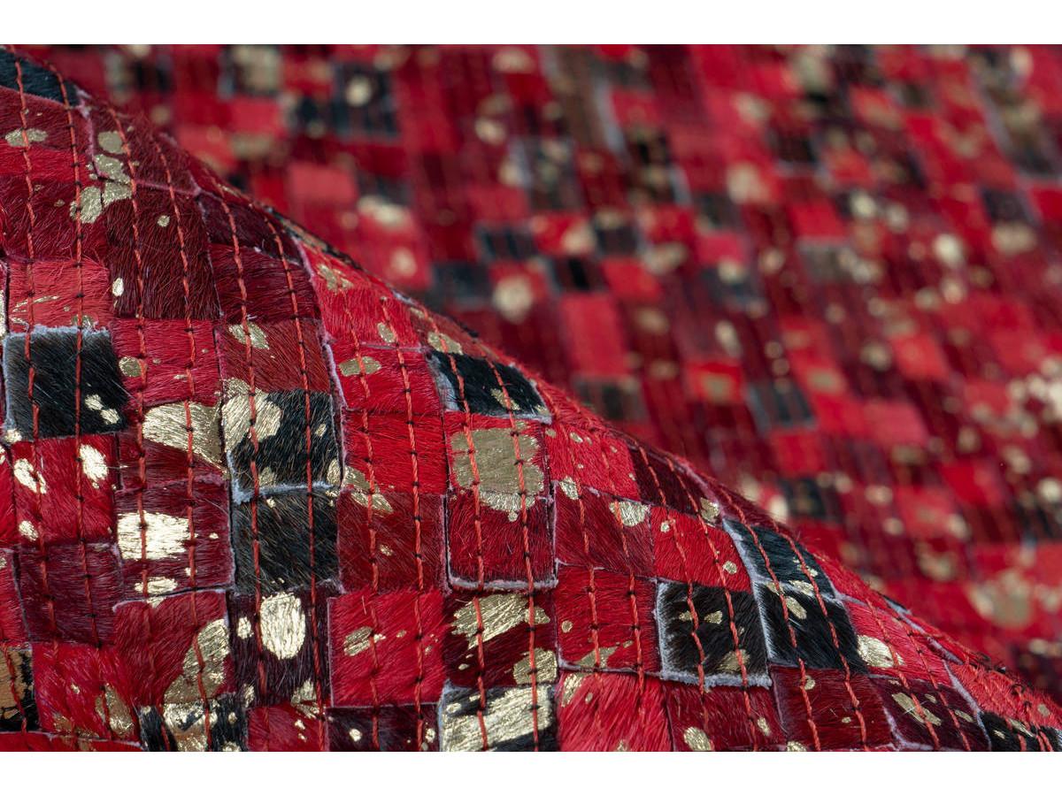 Tapis TORI Rouge / Doré 200cm x 290cm4