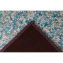 Tapis TORI Turquoise / Doré 160cm x 230cm5