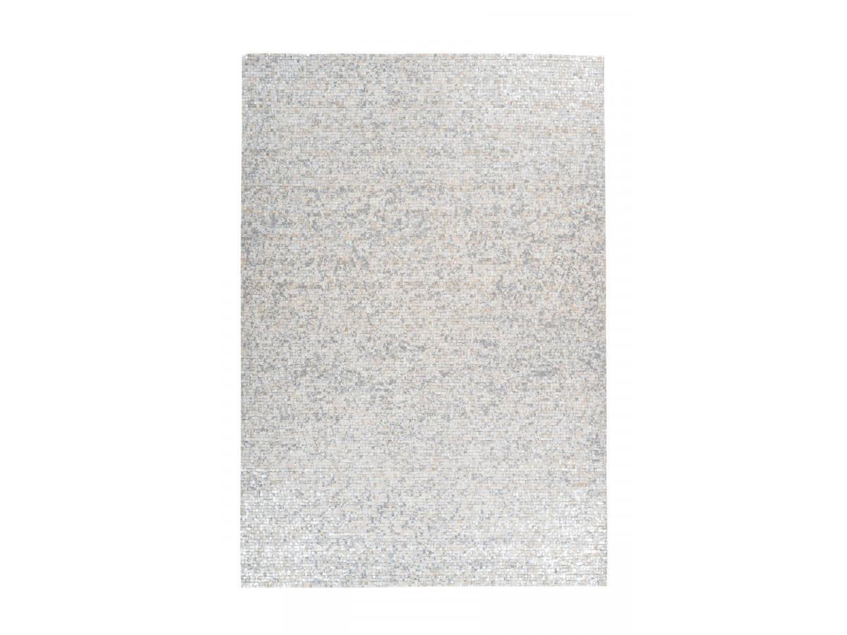 Tapis TORI Blanc/ Argenté 120cm x 170cm3