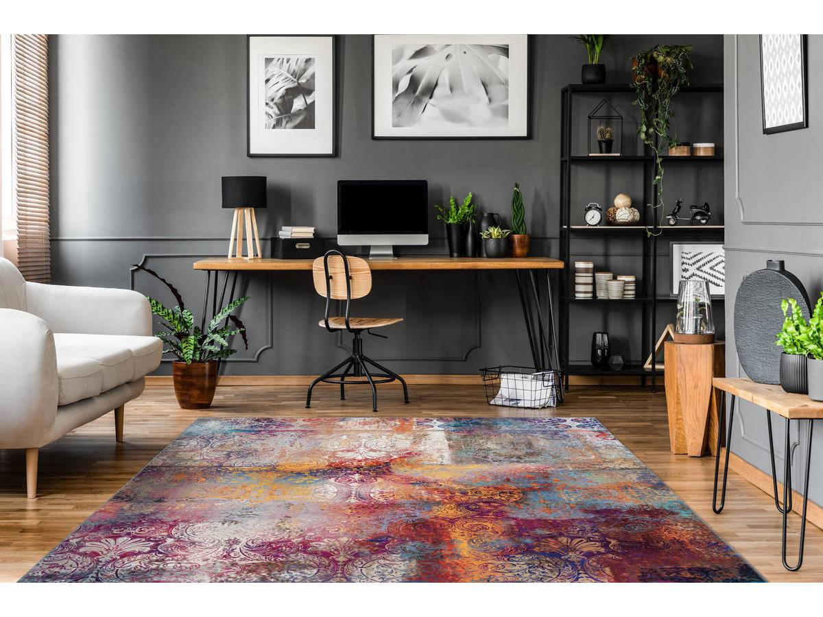 Tapis IDELIA Multicolor 120cm x 180cm1