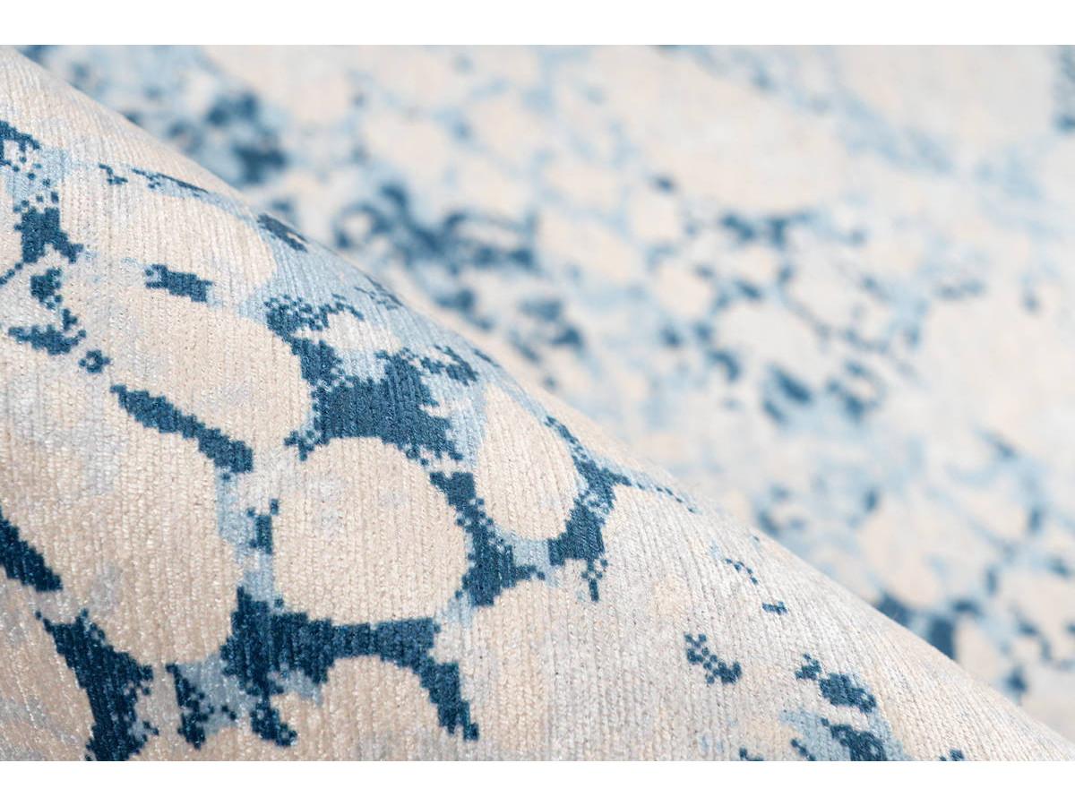 Tapis IDELIA Crème / Bleu 170cm x 240cm4
