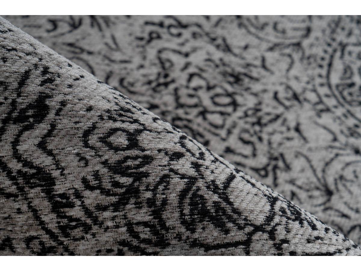 Tapis VINTO Gris / Noir 80cm x 150cm4