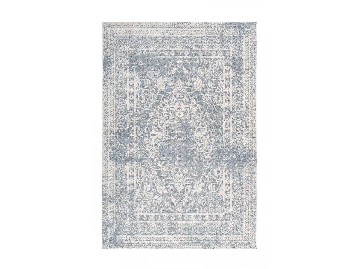Tapis VINTO Crème / Bleu 200cm x 290cm 3